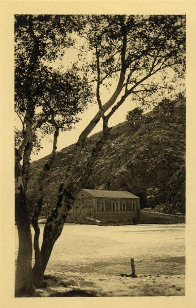 43161_AMT - Vista del río Tajo y el molino de Saelices
