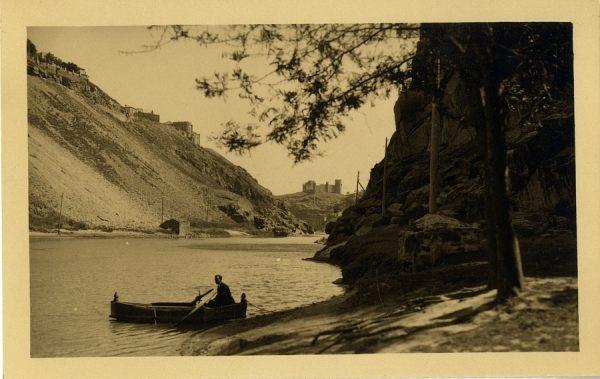 43162_AMT - Vista del río Tajo y el castillo de San Servando