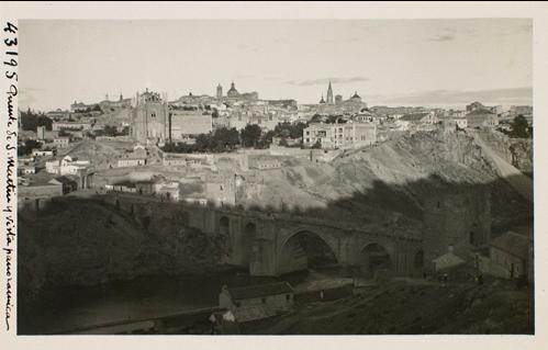 43195_ADPT - Puente de San Martín y vista panorámica de Toledo