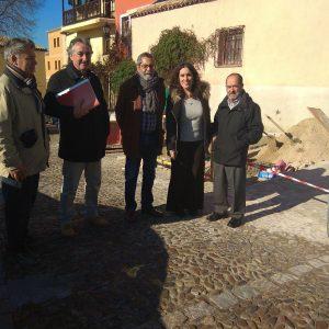 El Ayuntamiento interviene en el paseo de San Lucas para dar continuidad a la calzada de este vial del Casco Histórico