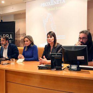 La alcaldesa destaca la labor de la cineasta toledana Mabel Lozano «activista por y para la igualdad» en la presentación de 'El proxeneta'