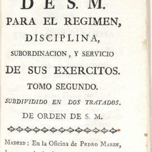 """CONFERENCIA: """"MODERNIDAD, PRESENTE Y PASADO DE LAS ORDENANZAS MILITARES DE 1768 EN SU CONTEXTO HISTÓRICO"""""""