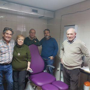 El Ayuntamiento mejora el equipamiento del servicio de podología del Centro de Mayores de Santa María de Benquerencia
