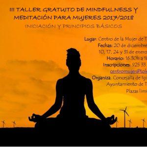 """ALLER """"MINDFULNESS Y MEDITACIÓN PARA MUJERES"""""""