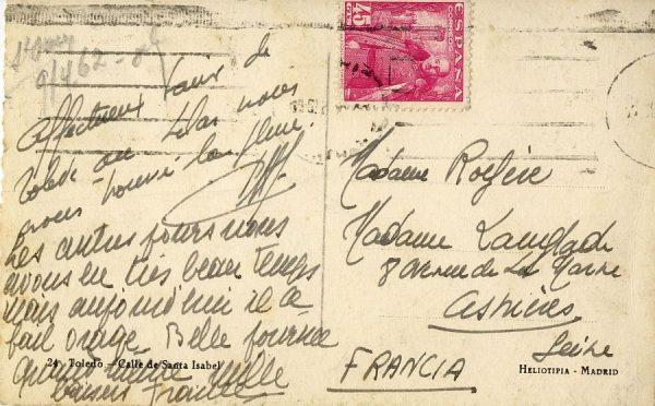 A Asnières sur Seine (FRANCIA) (1955 ca)
