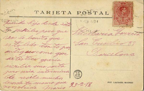 A Barcelona (1918)