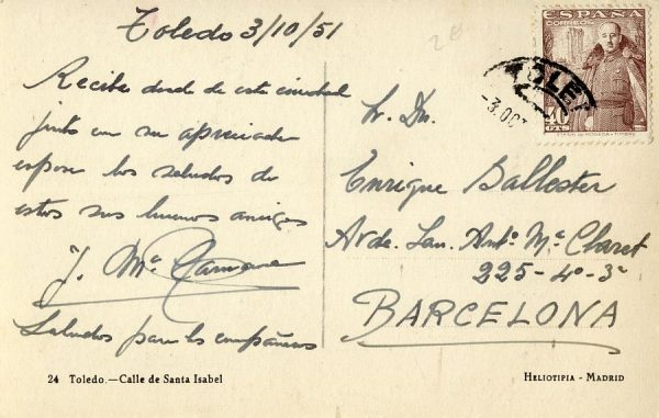 A Barcelona (1951)