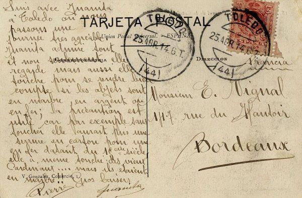 A Burdeos (FRANCIA) (1914)