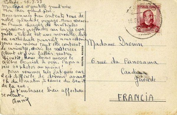 A Caudéran (FRANCIA) (1933)