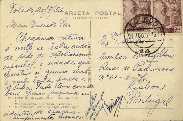 A Lisboa (PORTUGAL) (1953)