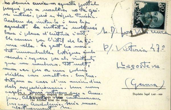 A Llagostera (1956 ca)