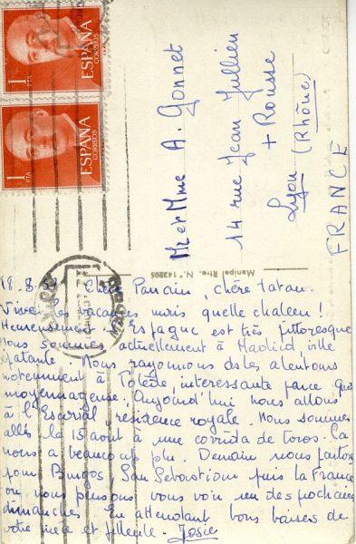 A Lyon (FRANCIA) (1957)