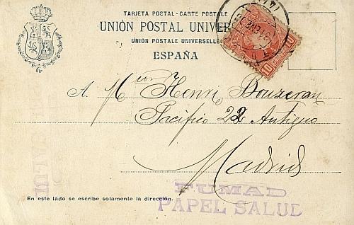 A Madrid (1908)_Imagen