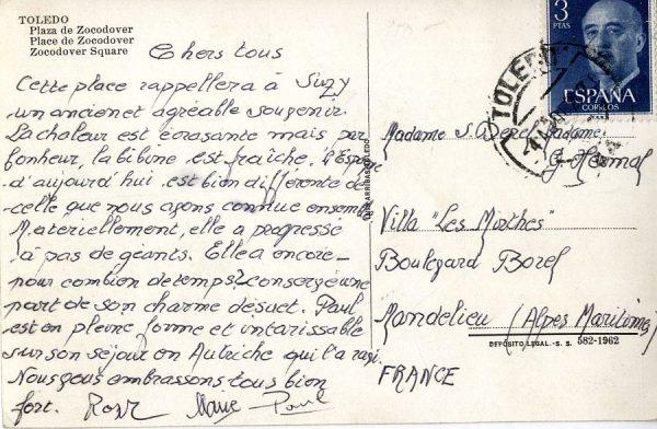 A Mandelieu (FRANCIA) (1962)
