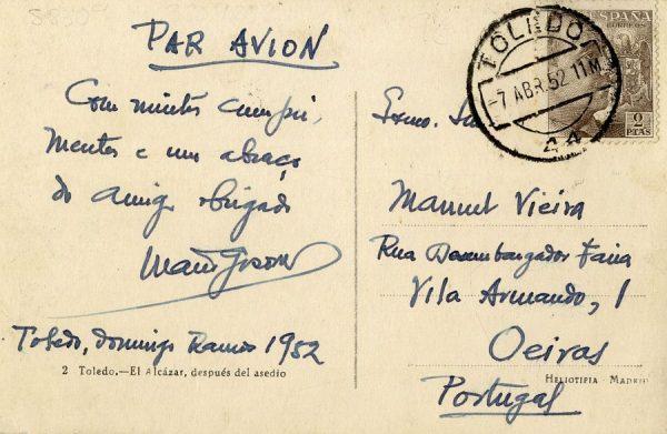 A Oeiras (PORTUGAL) (1952)