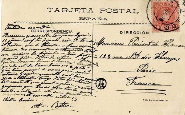 A París (FRANCIA) (1908)