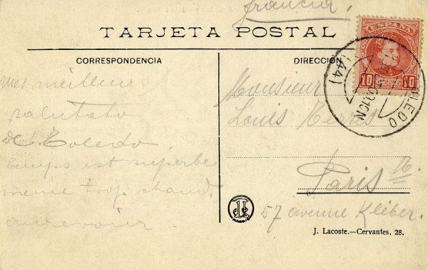 A París (FRANCIA) (1909)