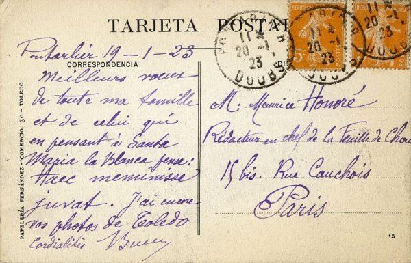 A París (FRANCIA) (1923)