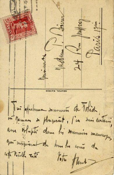 A París (FRANCIA) (1925 ca)