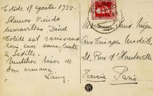 A París (FRANCIA) (1935) -1