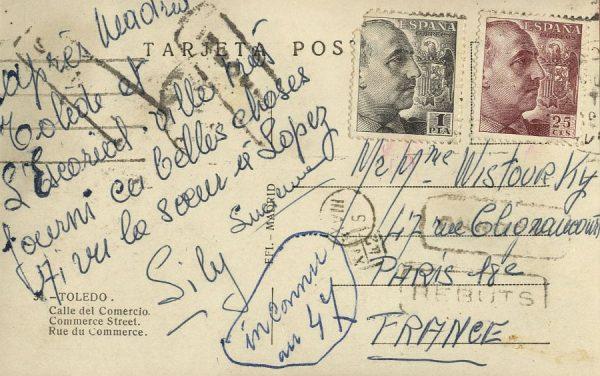 A París (FRANCIA) (1945 ca)
