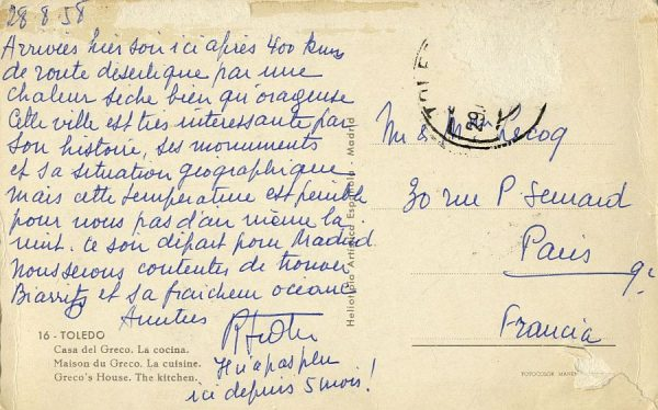 A París (FRANCIA) (1958)