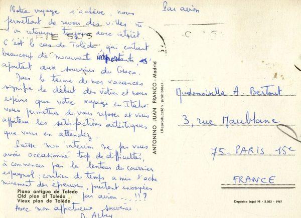 A París (FRANCIA) (1967 ca)