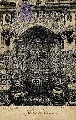 A Toledo (1909)_Imagen