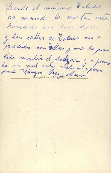 A Toledo (1960 ca)