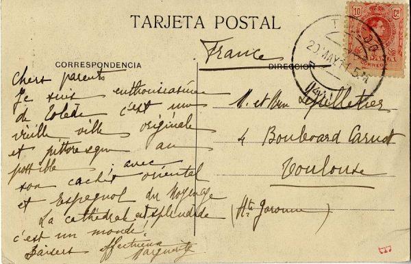 A Toulouse (FRANCIA) (1911)