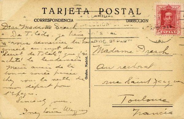 A Toulouse (FRANCIA) (1925 ca)