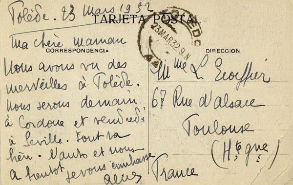 A Toulouse (FRANCIA) (1932)