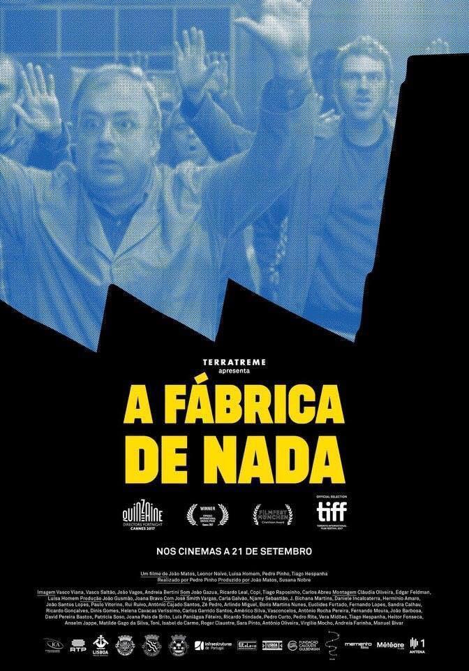 Cine-Fórum Solidario: A Fábrica de Nada.- Defiende el trabajo digno.