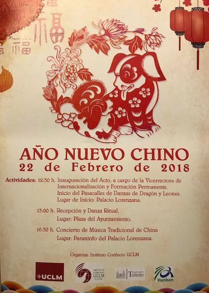 Año Nuevo Chino: Inauguración del Acto