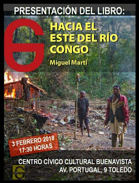 Presentación del libro «Hacia el este del río Congo»