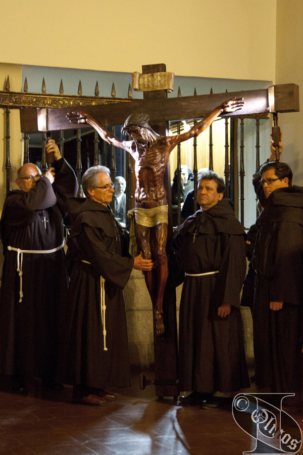 Sábado Santo. Procesión del SANTÍSIMO CRISTO DE LA BUENA MUERTE