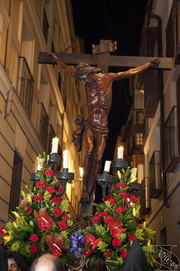 Viernes Santo. Procesión del SANTÍSIMO CRISTO DE LA EXPIRACIÓN