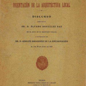 2 – Orientación de la Arquitectura local / Álvaro González Saz (1918)