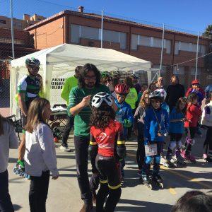 a VIII Carrera Roller Toledo reúne en el Colegio Juan de Padilla a numerosos participantes
