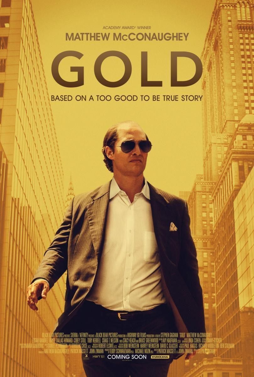 Cine-Fórum Solidario: Gold: La Gran Estafa.- Conoce y pásate a la banca ética.