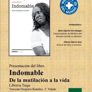 """Presentación del libro """"Indomable, de la mutilación a la vida"""""""