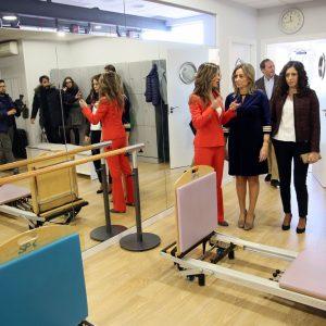 Milagros Tolón inaugura un nuevo centro de fisioterapia y medicina estética en el barrio de Santa Teresa