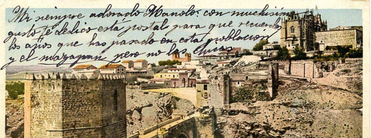 Nueva exposición virtual : Desde Toledo con…