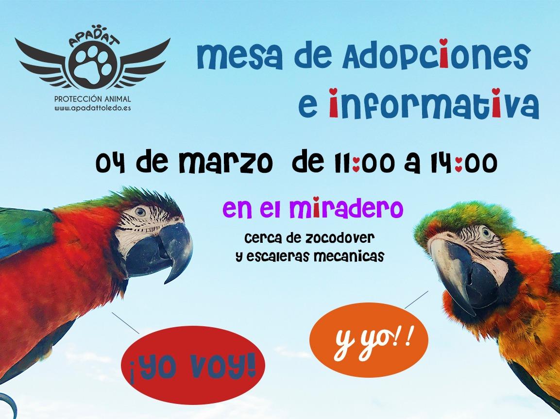 http://www.toledo.es/wp-content/uploads/2018/02/apadat.jpg. Mesa de adopción e información