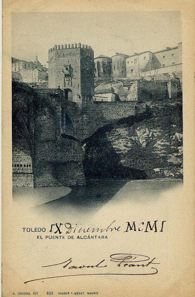CÁNOVAS_803-Toledo - El puente de Alcántara