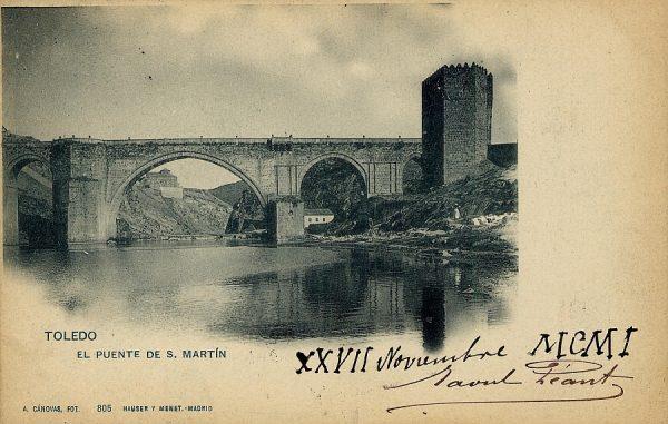 CÁNOVAS_805-Toledo - El puente de S. Martín