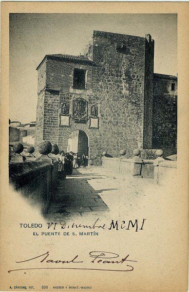 CÁNOVAS_806-Toledo - El puente de S. Martín