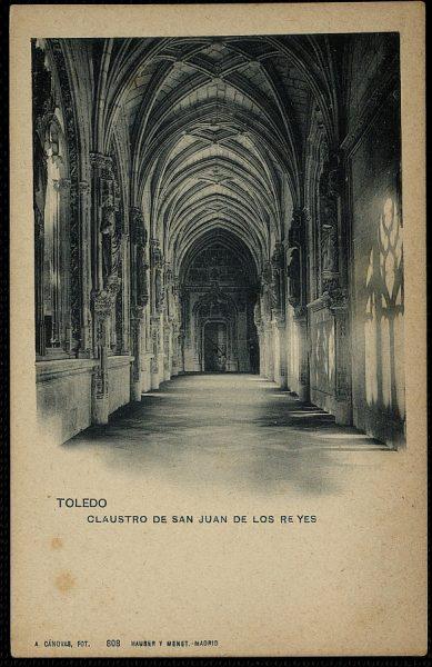 CÁNOVAS_808-Toledo - Claustro de san Juan de los Reyes