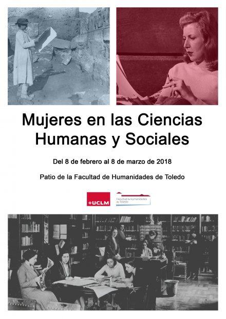 """http://www.toledo.es/wp-content/uploads/2018/02/cartel_mujeres_2018-440x622.jpg. Exposición """"Mujeres en las Ciencias Humanas y Sociales"""""""