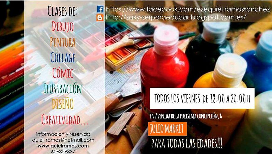 https://www.toledo.es/wp-content/uploads/2018/02/clases-creatividad.jpg. Taller de Creatividad, dibujo y pintura